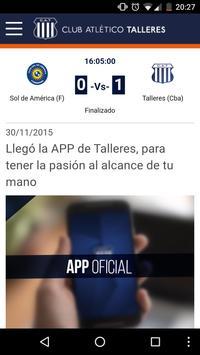 Club Atlético Talleres screenshot 1
