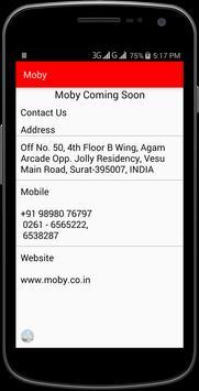 MOBY apk screenshot