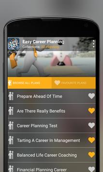 Easy Career Planning poster