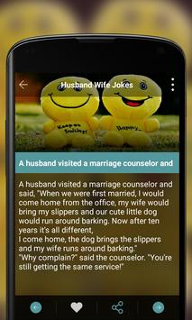 Husband Wife Jokes screenshot 3