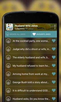 Husband Wife Jokes apk screenshot