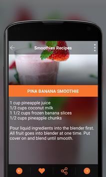 Smoothies Recipes apk screenshot