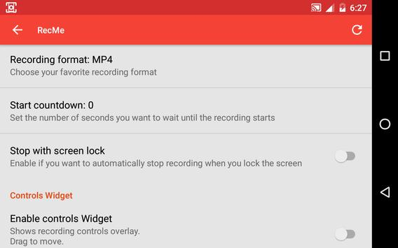 recme free screen recorder apk download free tools app for android