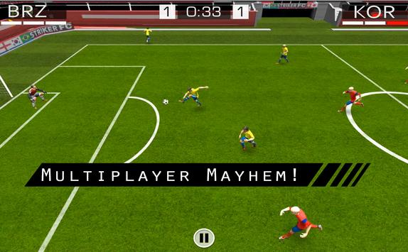 Striker FC 4K apk screenshot