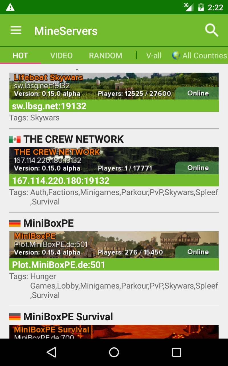 Cool Server List For Minecraft for Android - APK Download