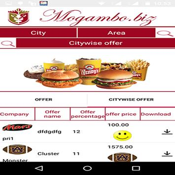 Mogambo.biz apk screenshot