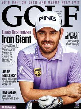 GOLF Magazine Australia poster