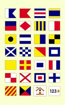 Nautical Flags Easy apk screenshot