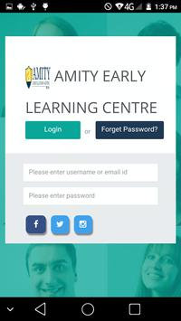 Amity Early Learning Center poster