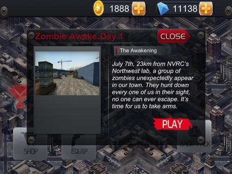 Zombie Invasion:Fight Or Die apk screenshot