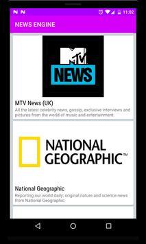 NewsEngine Beta - World News screenshot 9