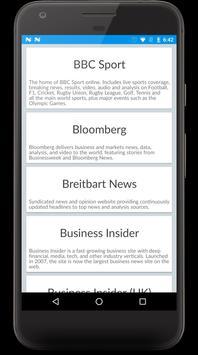 NewsEngine Beta - World News screenshot 3
