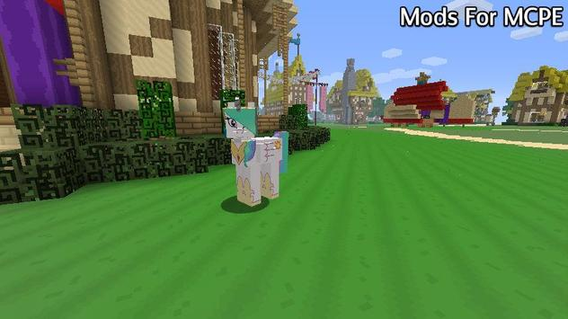 Mods for Minecraft PE poster