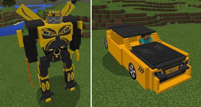 Mod Transformers for MCPE screenshot 3