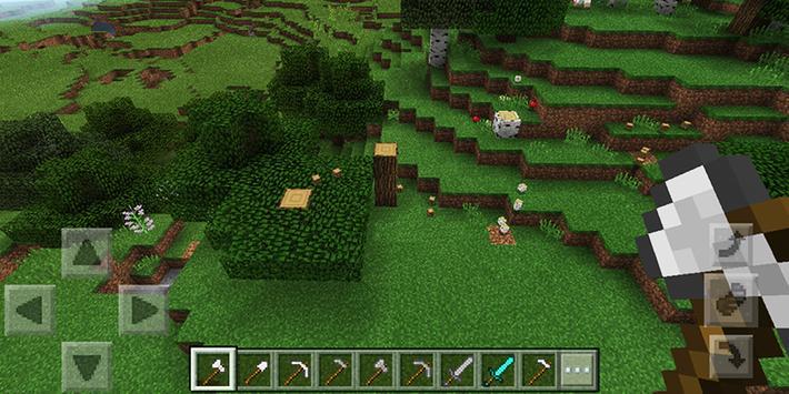 Tree Logger Minecraft mod poster
