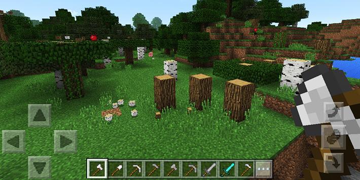 Tree Logger Minecraft mod apk screenshot