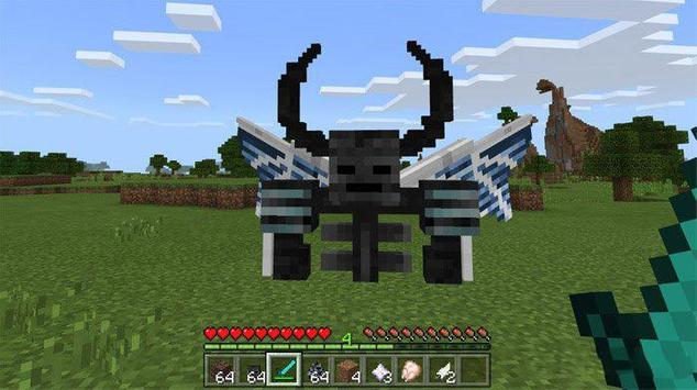 Wither Demon Mod for MCPE poster