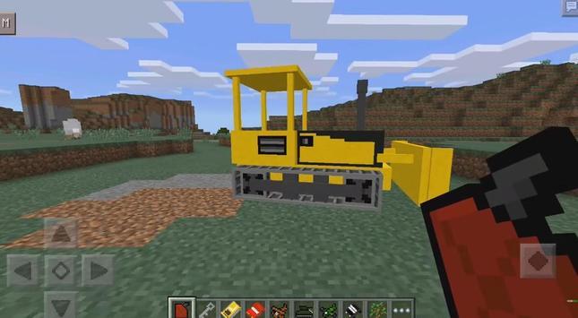 Mod Advance Vehicles for MCPE apk screenshot