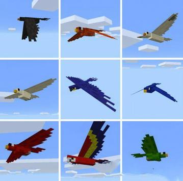 Birds Mod for MCPE poster
