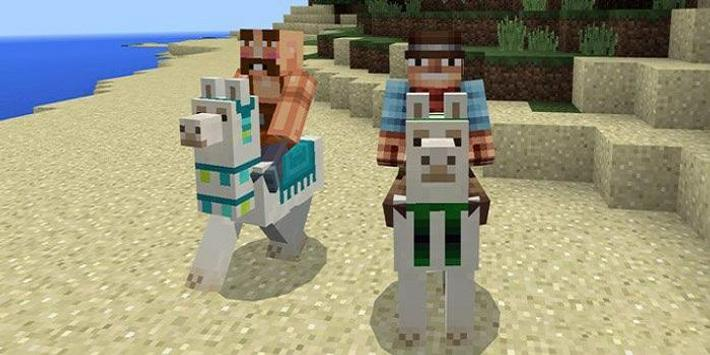 Controllable Llama Mod for MCPE poster