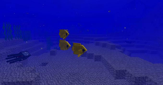Fishes Mod for MCPE poster