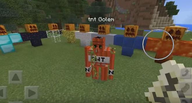 Mod Golem World for MCPE apk screenshot