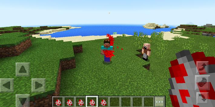 Herobrine Minecraft mod apk screenshot