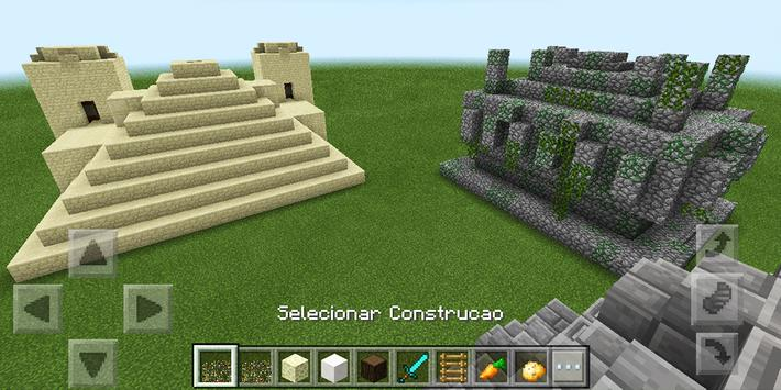 Instant Structures MCPE mod poster