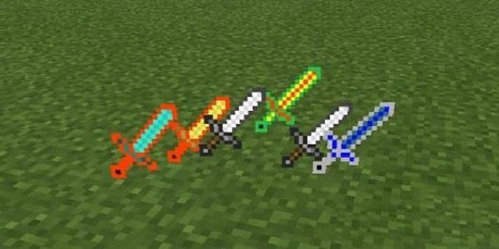 More Swords Mod for MCPE apk screenshot