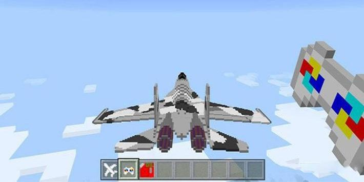Remote Controlled Aircraft Mod for MCPE apk screenshot