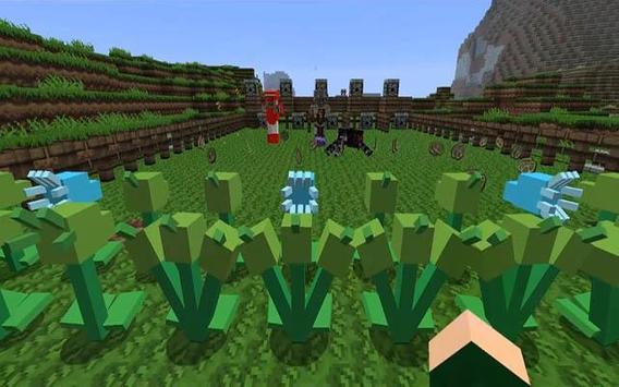 Plant 2 Zombie Mod for Minecraft Pe poster