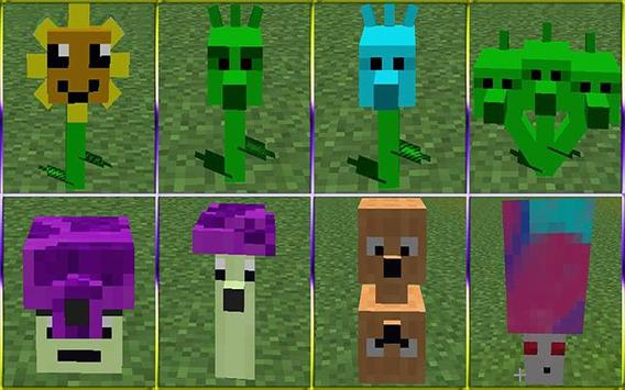 Plant 2 Zombie Mod for Minecraft Pe screenshot 1
