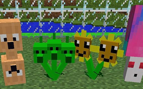 Plant 2 Zombie Mod for Minecraft Pe screenshot 2