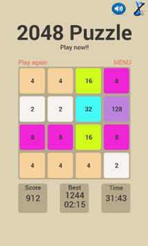2048 Puzzle poster