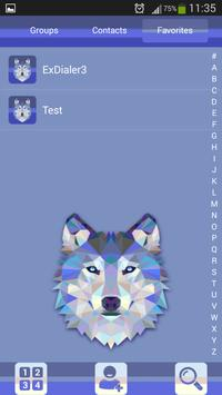 Wolf Theme Dialer screenshot 2