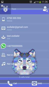 Wolf Theme Dialer apk screenshot