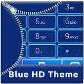 Blue HD Dialer Theme icon