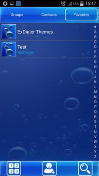 Blue HD Dialer Theme screenshot 4