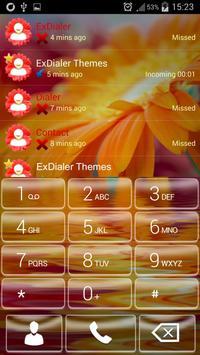 Flower Dialer Theme poster