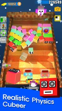 Jerk Cubeer: 3D Brick Breaker screenshot 1