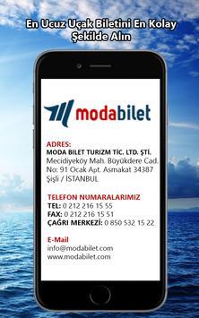 UÇAK BİLETİ - Modabilet.com apk screenshot