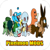 Pixel mon MOD For MineCraft PE icon