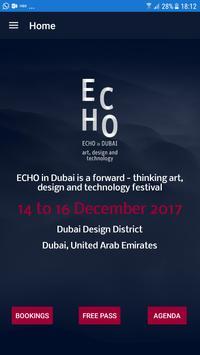 ECHO in DUBAI poster