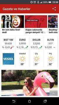 Tüm Haber ve Gazeteler screenshot 3