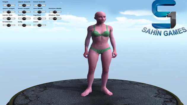 3D Real Human Model Game apk screenshot