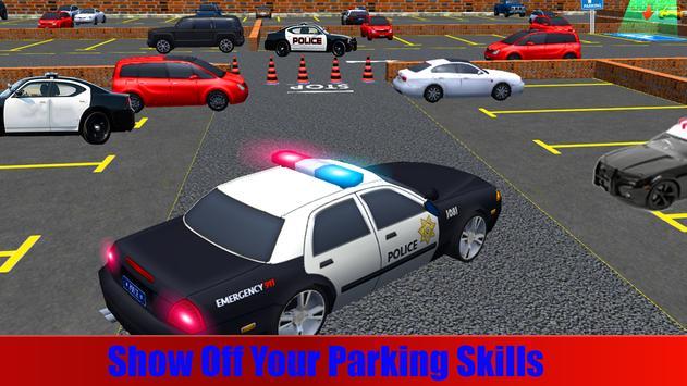 Police Car Parking Simulator Free apk screenshot
