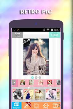 Retropic Collage Editor apk screenshot