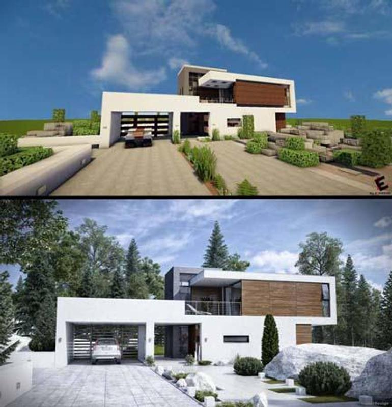 Modern Houses For Minecraft For Android APK Download - Minecraft moderne hauser bilder