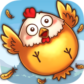 Chicken over the hedge icon