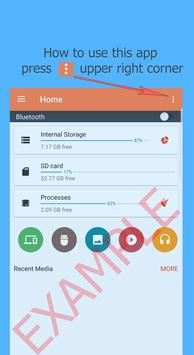 Bluetooth Files Transfer poster